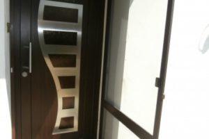 Dveřní síť před vchodové dveře
