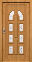 Dveře s okrasnou výplní