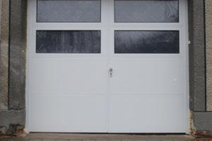 Dvoukřídlá garážová vrata Olomouc