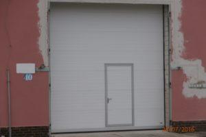 Průmyslová vrata Věznice Mírov